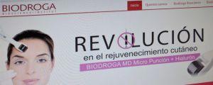Nueva página web para Biodroga España